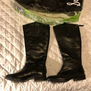 Sam Edelman Wide Calf Boots- size 7.5